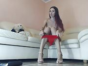 long-legged russian cam-slut