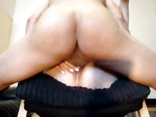 Anal Milf video: Anal Creampie on chair