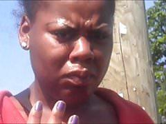 Elva Anderson Purple Toenails