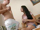 Horny Teen Enjoy First Anal Sex Experience