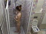 Czech Girl Erica in the shower - Hidden camera 2. cam