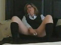 MILF Caught Masturbating
