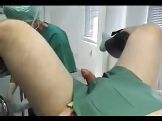 Femdom Humiliation Doctor video: male gyno exam