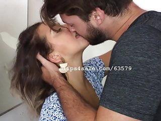 Dave and Samantha Kissing Video 4