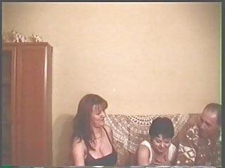 Brunette Threesome Latina video: Amateur trio
