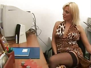 Milfs Italian Stockings video: Righteously Punished Secretary