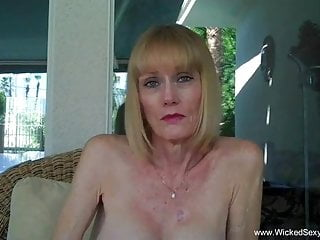 Blowjob Milf Mature video: Sexy Time With Grandma Melanie
