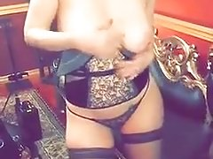 Maitland Ward big boobs and pussy bdsm show