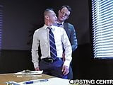 FistingCentral The Fist My Boss Gives Me After Work Hours
