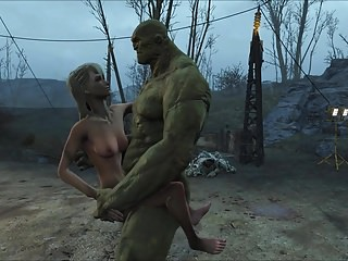 Hentai Strong Hd Videos video: Fallout 4 Strong and Tori
