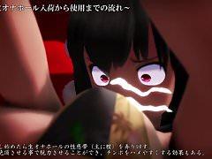 MMD R-18 Touhou Alice & Aya