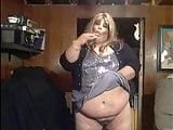 BBW Sissy More dildo sucking