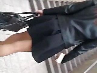 Underskirt panty- Sous la jupe sans culotte