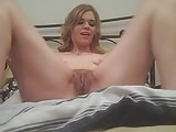 Wife Fucks Huge Black Dildo