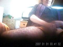 Wife masturbates on hidden camera