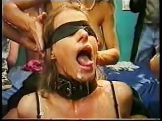 Bdsm Humiliation Blindfold video: blindfold bukkake