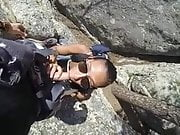 Babe Head #129 The Adrenaline Junkies, Ontop of a Mountain