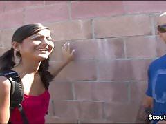 Big Cock Stranger Seduce Street Teen à baiser pour de l'argent