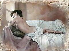 Erotické akvarely Pascal Chove