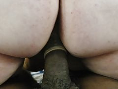Interracial Reverse Cowgirl 2