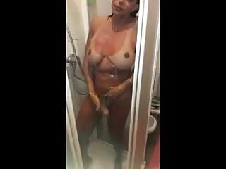 Masturbation Shemale Big Tits Shemale movie: Perfect tits and cock in the Shower