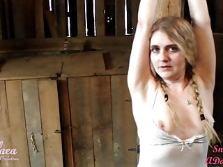 Stockings Bdsm Softcore video: Barnyard Tickle Toy : A Preview