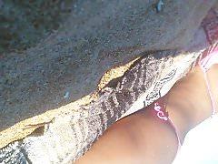 Schwarzes Mädchen Tanga Teil 1