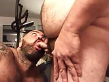 I think maybe its a first time i sucked a big fat bear guy