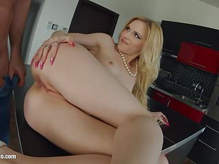 Anal Hardcore Getting video: Rosella Visconti getting a dick deep in ass for anal on Ass