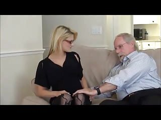Blondes Oldyoung Stockings video: Sexy girl Hope