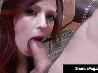 Pov Blowjob Big Tits video: Soldier's Wife Shanda Fay Works Her Captain's Cock!