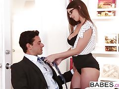Babes - Office Obsession - Ryan Driller i Brooklyn Chase -