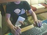 Spy Movie Roommate Caught on Spycam