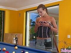 Suzie Carina - Mon propre jeu de billard - Twistys
