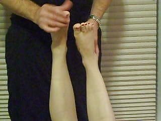 Massage Foot Fetish Footjob video: Feet fondling