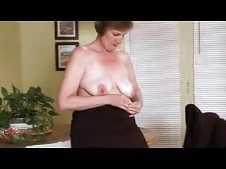 Masturbation Grannies Pussy video: Horny Granny