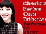Charlotte Sartre #2 Pornstar Cum Tribute(Cum on video - CoV)