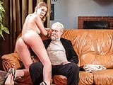XXX SHADES - Blonde doll sex adventure with old gr