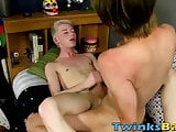 Cute blond gets totally dominated by bareback rough sex