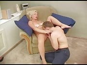 Pretty russian Milf seduces a Boy