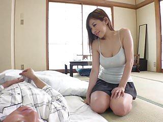 性感的年輕日本女孩