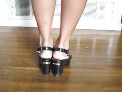 Seksowne azjatyckie stopy ..