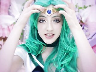 Beckii Cruel Sailor Neptune Cosplay