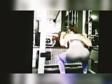 Bubble butt teens candid at the gym