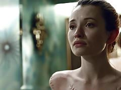 Emily Browning Nude Scene In American Gods ScandalPlanet.Com