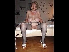OmaGeiL Foto amatoriali di Crazy Hot Granny Tits