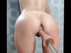 Amatorskie pieprzone maszyny, kurwa cipka i anal, squirting
