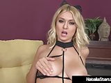 Delicious Natalia Starr Masturbates Her Juicy Hairy Cunt!