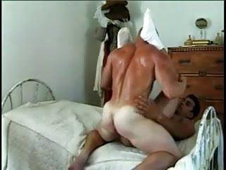 Two raunchy guys ass fucking