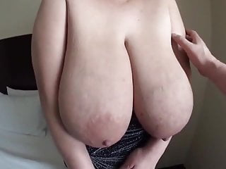 Big Boobs Japanese Big Tits video: Ruriko S Cup - Big Saggy Huge Tits with Milk